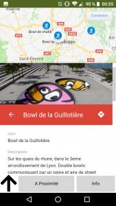 Skateparks Map Application Description