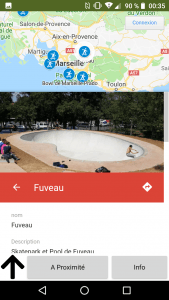 Skateparks Map Application Bowl